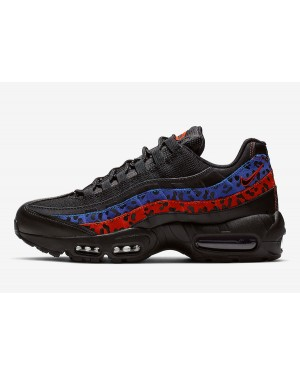 Nike Air Max 95 (Negras/Azul/Rojas) CD0180-001