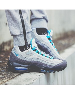 Nike Air Max 95 (Blancas/Azul) AT8696-100