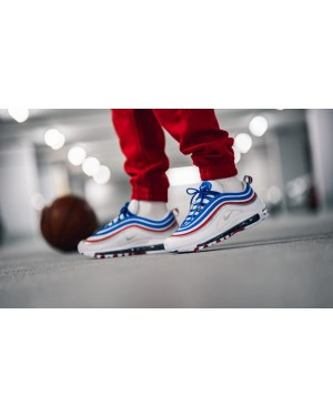 info for e4f5f 7e1ef Nike Air Max 97 (Game Royal Plata metálica) 921826-404 ...