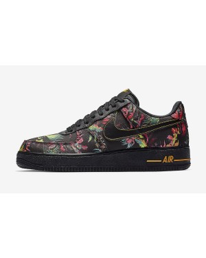 Nike Air Force 1 '07 LV8 (Negras/Multicolor-Oro) BV6068-001