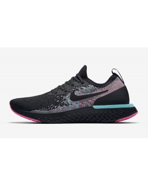 Nike Epic React Flyknit (Negras/Multi-Color) BV1572-001