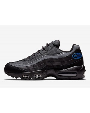 Nike Air Max 95 (Negras/Anthracite-Game Royal) BQ3168-002