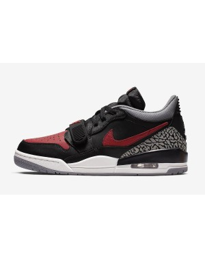 Jordan Legacy 312 Low (Negras/Rojas) CD7069-006