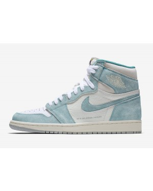 Air Jordan 1 Retro High OG (Verde/Blancas/Grises) 555088-311