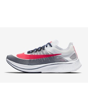 Nike Zoom Fly SP (Blancas/Flash Crimson-Plata metálica) CD6616-146